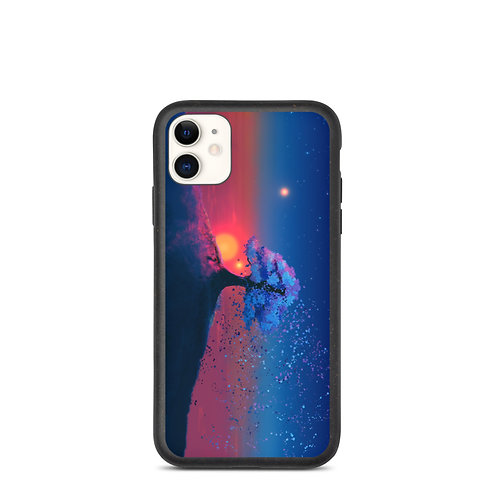 """iPhone case """"Just a Tree and a Breeze"""" by JoeyJazz"""