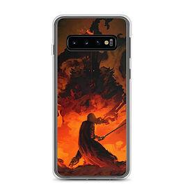 "Samsung Case ""Eowyn Vs The Witch King"" by Anatofinnstark"