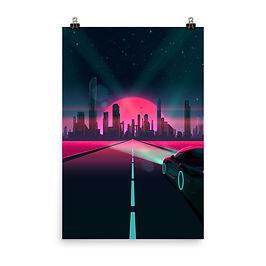 "Poster ""Sunset Drive"" by JoeyJazz"