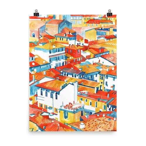 """Poster """"Verona"""" by Takmaj"""