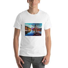 """T-Shirt """"Near the Water"""" by Gudzart"""