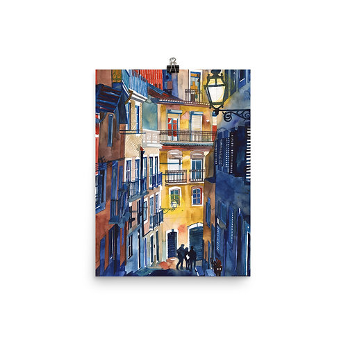 """Poster """"Lisbon"""" by Takmaj"""
