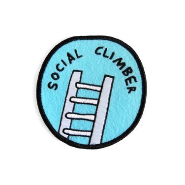 Social climber badge