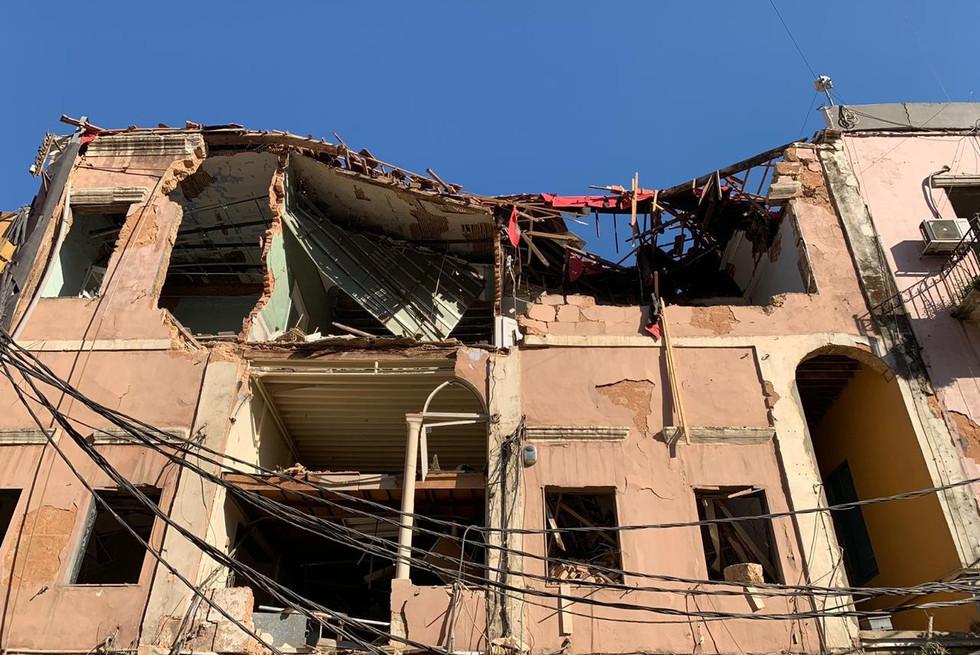 Ajami Foundation-Beirut-tragedy