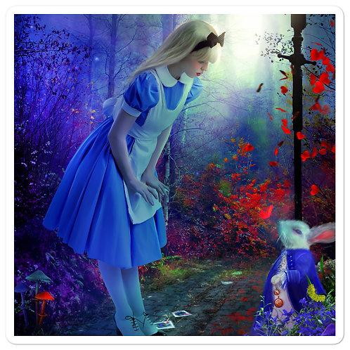 "Stickers ""Back to Wonderland"" by phatpuppyart-studios"