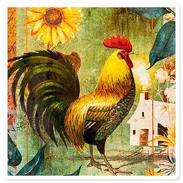 """Stickers """"Farm Days"""" by phatpuppyart-studios"""