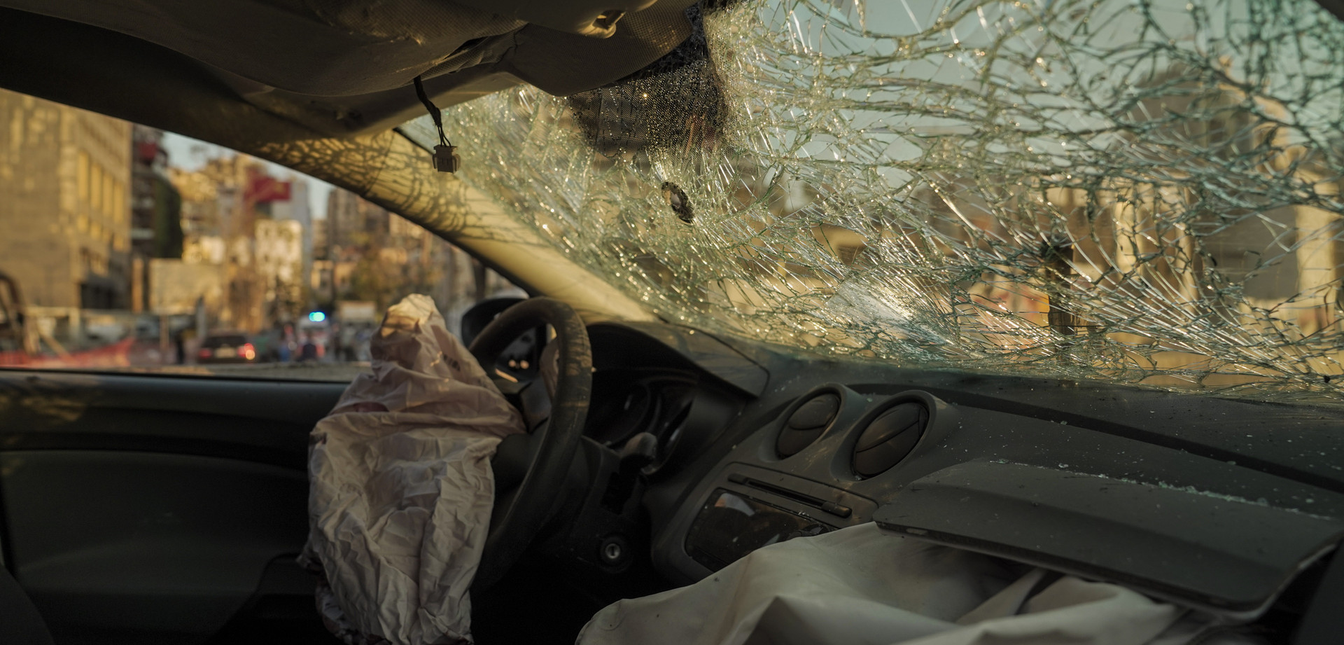 Ajami Foundation-Beirut-tragedy-car