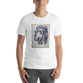 """T-Shirt """"Dinosaur Jesus"""" by MikeOncley"""