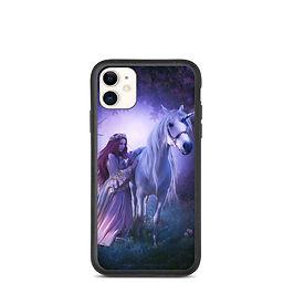 "iPhone case ""Unicorn"" by ElenaDudina"