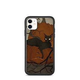 "iPhone case ""Black Cat"" by AbigailLarson"