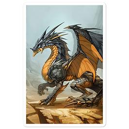 """Stickers """"Ash Dragon"""" by el-grimlock"""