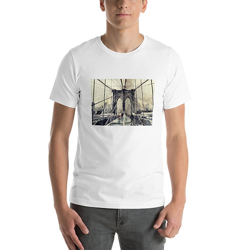 """T-Shirt """"Brooklyn Bridge"""" by Takmaj"""