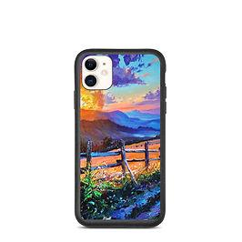 """iPhone case """"Evening Sun"""" by Gudzart"""
