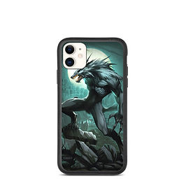 """iPhone case """"Werewolf"""" by el-grimlock"""