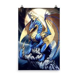 """Poster """"Dragonictus"""" by el-grimlock"""