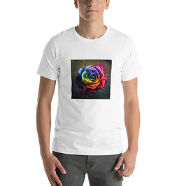 "T-Shirt ""Rainbow Dream Rose"" by Lilyas"