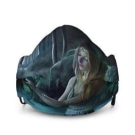 "Mask ""Baby Dragon"" by ElenaDudina"