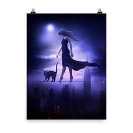 "Poster ""Sleepwalker"" by ElenaDudina"