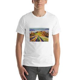 """T-Shirt """"Autumn Morning"""" by Gudzart"""