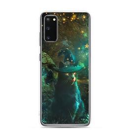 "Samsung Case ""Sweet But Spooky"" by phatpuppyart-studios"