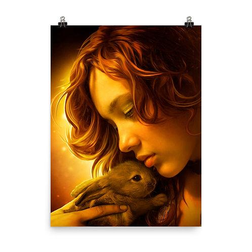 """Poster """"Tender Hands"""" by ElenaDudina"""