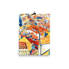 """Poster """"Dubrovnik"""" by Takmaj"""