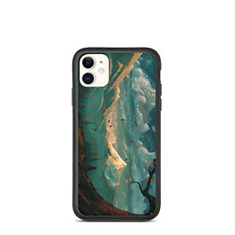 "iPhone case ""At Autumns Door"" by JoeyJazz"