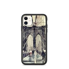 "iPhone case ""Brooklyn Bridge"" by Takmaj"