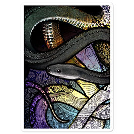 "Stickers ""Dragon Snake"" by Culpeo-Fox"