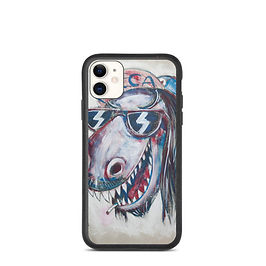 """iPhone case """"Dinosaur Jesus"""" by MikeOncley"""
