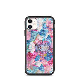 "iPhone case ""Wild Springtime"" by phatpuppyart-studios"