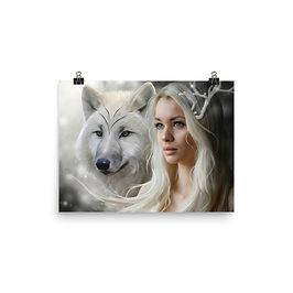 "Poster ""Winter Somewhere"" by ElenaDudina"