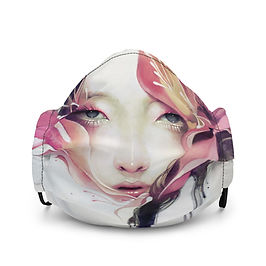 "Mask ""Bauhinia"" by Escume"