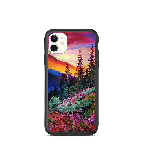 """iPhone case """"Evening"""" by Gudzart"""