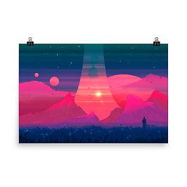 "Poster ""Dreams in Pastel"" by JoeyJazz"