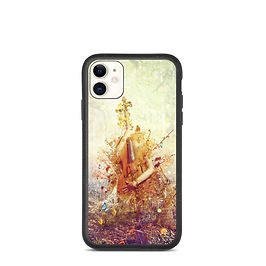 """iPhone case """"Silence"""" by Aegis-Illustration"""