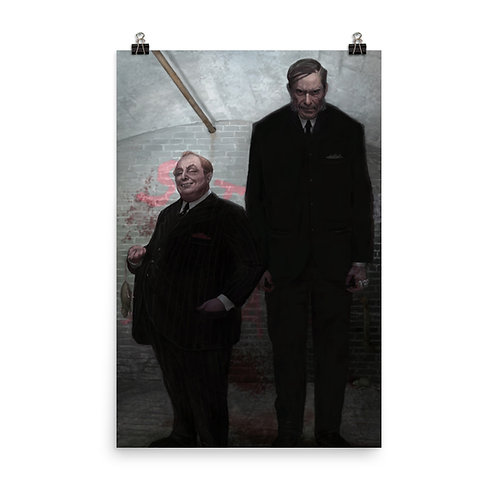 """Poster """"The Old Firm"""" by JeffLeeJohnson"""