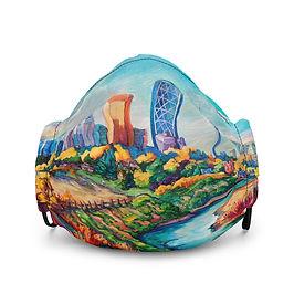 """Mask """"Calgary Horizon"""" by LauraZee"""
