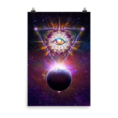 "Poster ""Cosmic Eye"" by Lilyas"