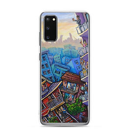 """Samsung Case """"7pm Cheers"""" by LauraZee"""