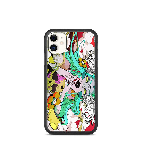 """iPhone case """"Flight of Death"""" by MoxxiMonroe"""