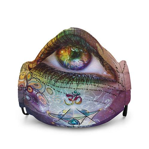 """Mask """"Rainbow Eye"""" by Lilyas"""