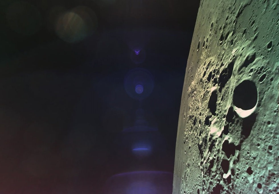 Israeli Lunar Spacecraft Loses Main Engine, Crashes on Surface of the Moon