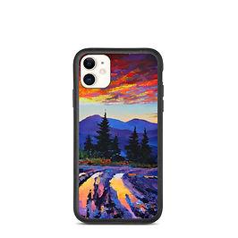 """iPhone case """"Evening 3"""" by Gudzart"""