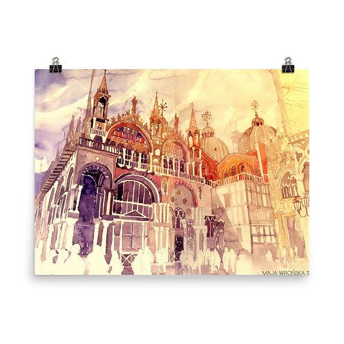 "Poster ""Venezia"" by Takmaj"