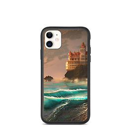 """iPhone case """"Cliff House"""" by chateaugrief"""