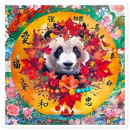 "Stickers ""Four Seasons"" by phatpuppyart-studios"