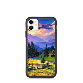 """iPhone case """"Sunset"""" by Gudzart"""