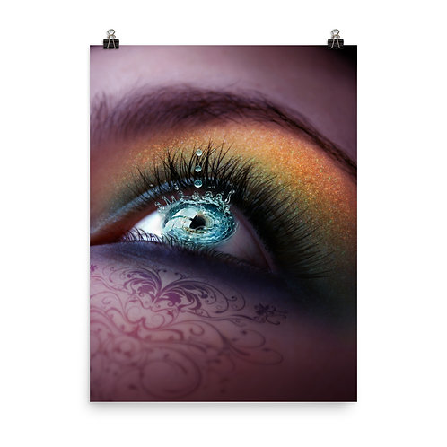 """Poster """"Water in my Eyes"""" by Lilyas"""