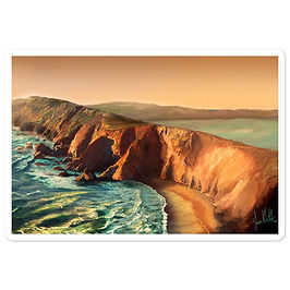 """Stickers """"Tomales Point"""" by chateaugrief"""